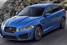 2015 Jaguar XFR-S Sportbrake: 5.0 Liter V8 Supercharger with 542 Horsepower. 0 to 60 mph in 4.8 seconds. Top Speed of 186 mph.