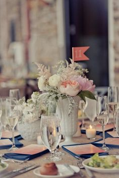 Stone Harbor Wedding Florist -  A Garden Party - The Reeds at Shelter Haven - Spark Photography - Coral wedding flowers - pink wedding flowers - blush wedding - rainy wedding day - beach wedding - burlap - rustic