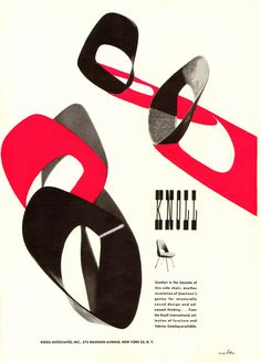 Knoll Ad 1952 | Flickr - Photo Sharing!