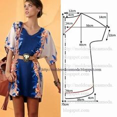 Discover thousands of images about sewing summer dresses. Dress patterns- So Sew Easy. Dress Sewing Patterns, Clothing Patterns, Sewing Ideas, Pattern Sewing, Free Pattern, Sewing Projects, Fashion Sewing, Diy Fashion, Diy Clothes