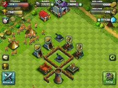 FPSXGames Amazing Clan Wars IOS Game Games like Clash of Clans #gamer #ClashofClans #videogame #IOSGame