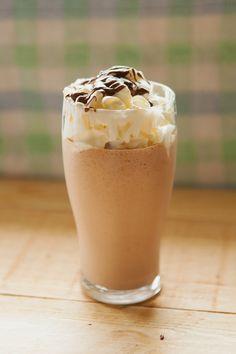 Nutella and Peanut Butter Milkshake