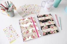 Caderno Floral Notebook 15x20cm