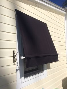Spear Window Awnings Made With Real Wrought Iron Frames