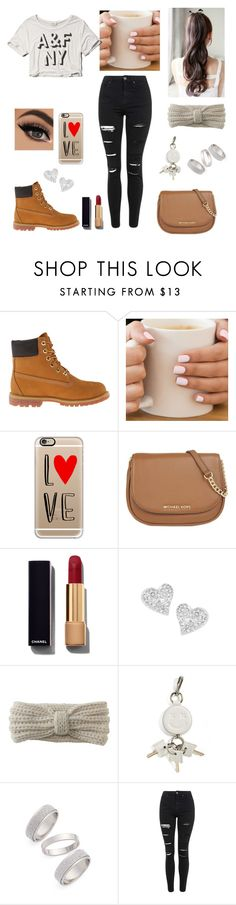 """@mad11-1 hacking"" by lovermonster ❤ liked on Polyvore featuring Timberland, Casetify, MICHAEL Michael Kors, Chanel, Vivienne Westwood, Aéropostale, Alexander Wang, Topshop, Abercrombie & Fitch and women's clothing"