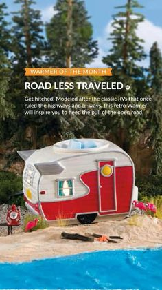 May warmer of the month. So  cute, and perfect for a camper or cottage! Available May 1st. www.seymour.scentsy.ca