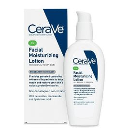 Facial Moisturizing Lotion PM by CeraVe. my favorite lotion Facial Lotion, Facial Cleanser, Acne Facial, Facial Scrubs, Facial Masks, Moisturizer For Dry Skin, Oily Skin, Sensitive Skin, Best Face Products