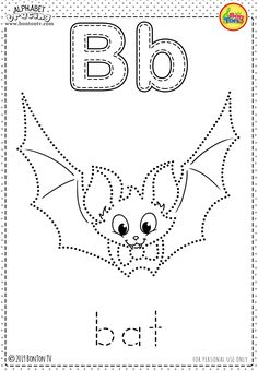 Free Preschool Printables - Alphabet Tracing and Coloring Worksheets for Kids - Tracing Letters (ABC's) for toddlers, preschool, kindergarten and grade, A-Z Coloring Pages - Alphabet Activities and Fine Motor Skills Practice by BonTon TV Free Preschool, Preschool Printables, Preschool Worksheets, Preschool Learning Activities, Preschool Kindergarten, English Worksheets For Kids, Tracing Worksheets, Coloring Worksheets, Preschool Coloring Pages