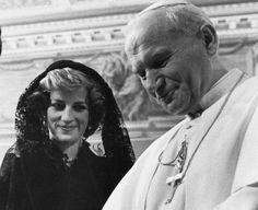 Lady Di and the Pope