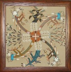 28 Best Navajo Sand Paintings Images Sand Painting Sand