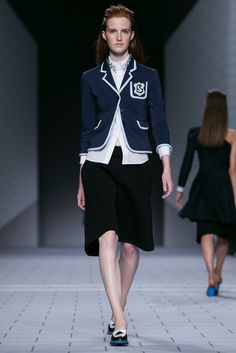 A look from the Viktor & Rolf Spring 2014 RTW collection.