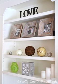 spring shelf decor tavaszi polc dekorci - Shelf Decor
