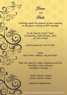 wedding invitation designs templates google search