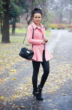#Mohitofashion #patrycjatyszka #pink coat #CzasNaButy pl.