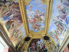 Appartements d'été d'Anne d'Autriche - un plafond