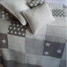 Morgan Patchwork Quilted Bedspread