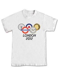 "London 2012 Olympic Games Fashion Olympics T-shirt London Symbols ..."""