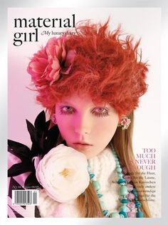 Material Girl Magazine No. 4, Winter 2008/2009 #cover | Kristy Kaurova