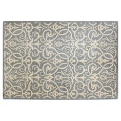 Check out this item at One Kings Lane! Wilson Rug, Light Blue
