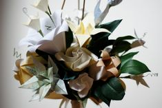 Google Image Result for http://mountainsidebride.com/wp-content/uploads/2010/09/Origami-Bouquet-1024x685.jpg