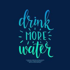 WNL Morning Motivation: It's simple really: It will help SO much! Drink More Water, Ideal Protein, Stay Focused, Ms, Neon Signs, Weight Loss, Goals, Sayings, My Love