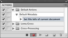 Make Photoshop Automatically Apply  your Metadata Template