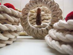 #ornaments #rope #handmade #loop #coaster #cotton #handmade #wreath