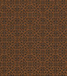 SALE Aztec Tribal Triangles Linocut Art Print 5 X 7 Home Decor