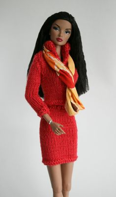 Sweater Outfit for Barbie by ChicBarbieDesigns on Etsy, $28.99