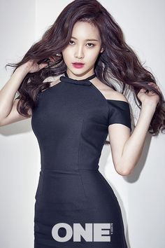 GIRL'S DAY - YuRa #유라 (Kim AhYoung 김아영) for The ONE Korea Apr. 2016 issue 160329