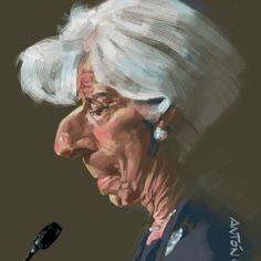 Caricaturas de famosos: Christine Lagarde. Caricatura Digital. Liam Neeson, Anton, Caricatures, Joker, Pictures, Fictional Characters, Water Colors, Portraits, Celebrity Caricatures