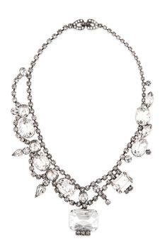 Tom Binns Crystal Ellis Glamour Necklace