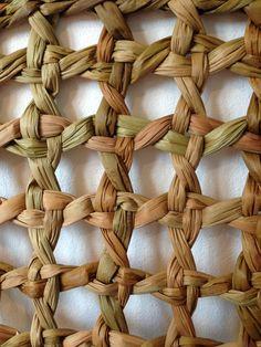 vannerie, détail, fibres végétales
