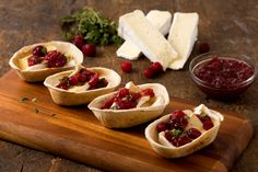 Baked Brie Tortilla Bowls image