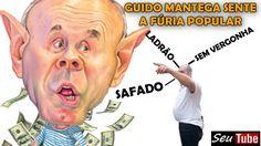 """HOSTILIZADO! Guido Mantega """"se borra"""" ao descobrir que não pode aparecer..."""