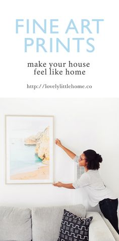 ✨Wouldn't it be wonderful to have new home decor so you can decorate your home beautifully this season? ❤️  Decorate and make your house feel like home with our fine art prints.  http://lovelylittlehome.co