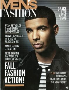 This magazine is aimed at mens' fashion, again, shown by the name of the magazine.