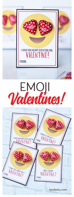 Adorable Emoji Printable Valentines a tween would love to make for their friends! I'm always on the lookout for free and Fun Printable Valentines...
