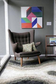 Hans Wegner Papa Bear Chair http://www.chinayadea.com/Products/PapaBearChair&Ottoman.html