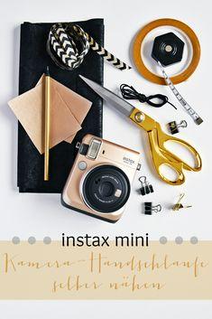 DIY Anleitung - Free Tutorial   Eine Kamera Handschlaufe selber nähen   Instax Mini Kameraband  #instaxyourlife   luzia pimpinella {Posting enthält Werbung}