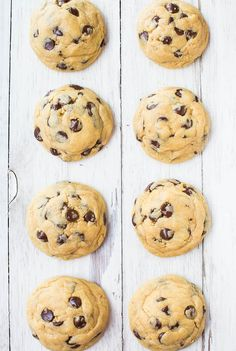 Soft and Chewy Chocolate Chip Cookies from @Averie Sunshine {Averie Cooks} Sunshine {Averie Cooks} Sunshine {Averie Cooks}
