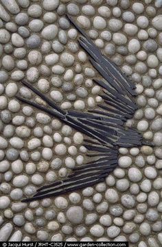 Pebble Mosaic - Bird