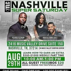 Are you in Nashville? I am personally inviting you as my guest to attend this life changing event. Its FREE to all guests. Simply register ysing #ibo 4723031