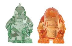 ben 10 Transforming Alien Rocks - Diamondhead and Wildmutt Place the rock in water and watch it dissolve as the alien is revealed! http://www.comparestoreprices.co.uk/action-figures/ben-10-transforming-alien-rocks--diamondhead-and-wildmutt.asp
