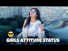 Status For Whatsapp Attitude, Attitude Status Girls, Whatsapp Status For Girls, Girls Status, New Love Songs, Cute Love Songs, Good Morning Love Song, Happy Birthday Lyrics, Music Status