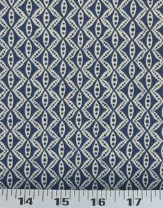 Hand Motif Ultramarine | Online Discount Drapery Fabrics and Upholstery Fabric Superstore!