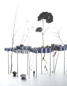 ronan & erwan bouroullec propose experimental solutions for urban life at vitra
