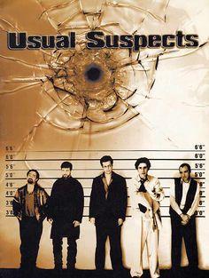 Usual Suspects est un film de Bryan Singer avec Chazz Palminteri, Kevin Spacey. Synopsis : Une légende du crime contraint cinq malfrats à aller s'acquitter d'une tâche très périlleuse. Ceux qui survivent pourront se partager un butin de 91 m