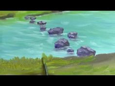 Filbert Mountain - Painting Lesson - YouTube