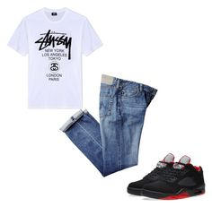 Untitled #20 by imcaamry on Polyvore featuring polyvore, Stussy, NIKE, men's fashion, menswear and clothing